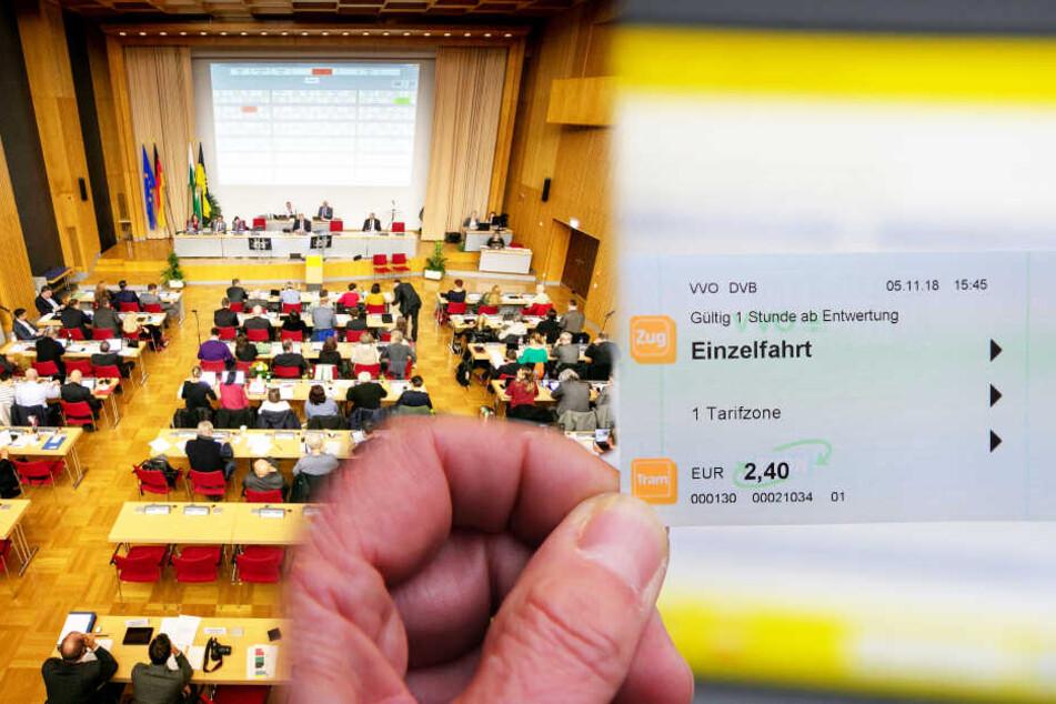 Dresdner Stadtrat will Preiserhöhungen stoppen