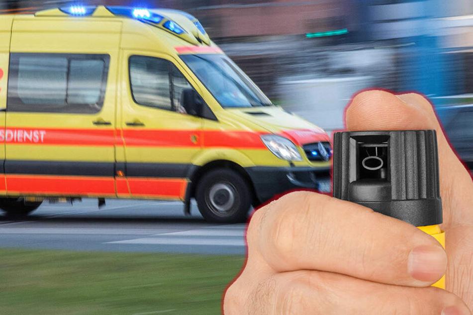 Pflegerin mit Pfefferspray angegriffen und beraubt