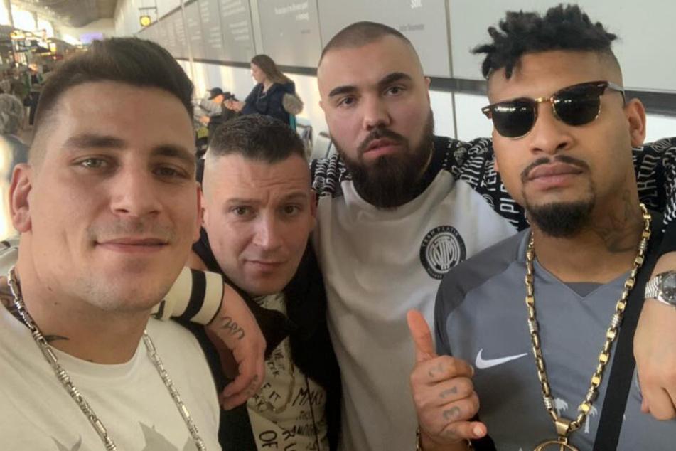 187 Strassenbande: Skandal-Rapper in Schnitzel-Restaurant verprügelt