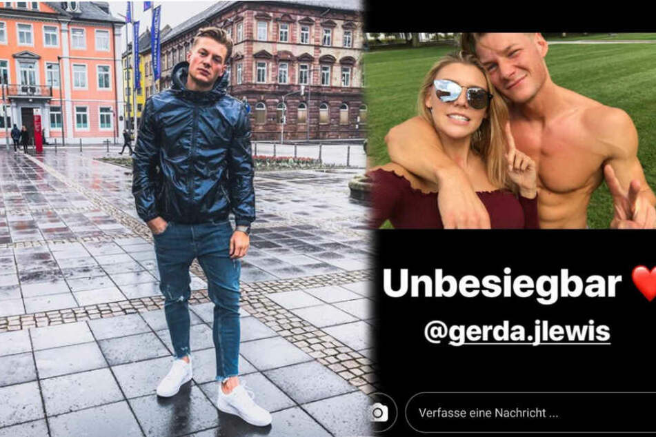 Gerdas Ex-Freund Tobi beleidigt das GNTM-Sternchen. Sie hatte die Beziehung beendet.