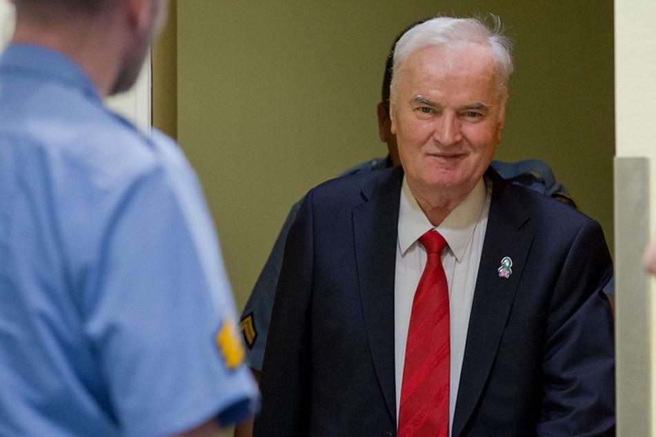Ex-General Ratko Mladic (75) wurde zu lebenslanger Haft verurteilt.