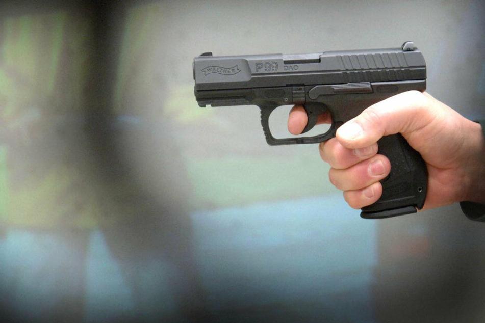 Von elf verlorenen Dienstwaffen in den letzten zehn Jahren, gilt eine als gestohlen. (Symbolbild)