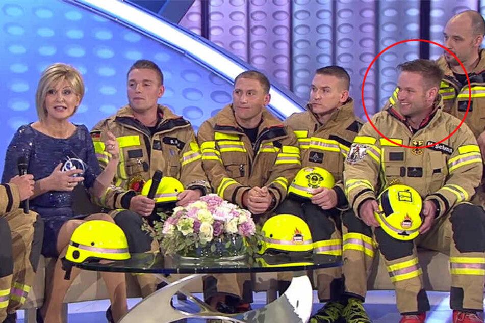 Mathias Schmidt (2.v.r.) aus Bredenborn war einer von zehn lauffreudigen Feuerwehrmänner.
