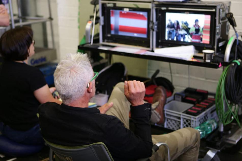 Regisseur Matthias Luther hat immer alles im Blick.