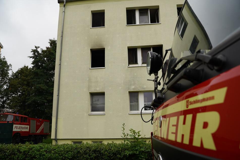 In diesem Haus in Kleinbautzen ereignete sich das Feuerdrama am frühen Dienstagmorgen.