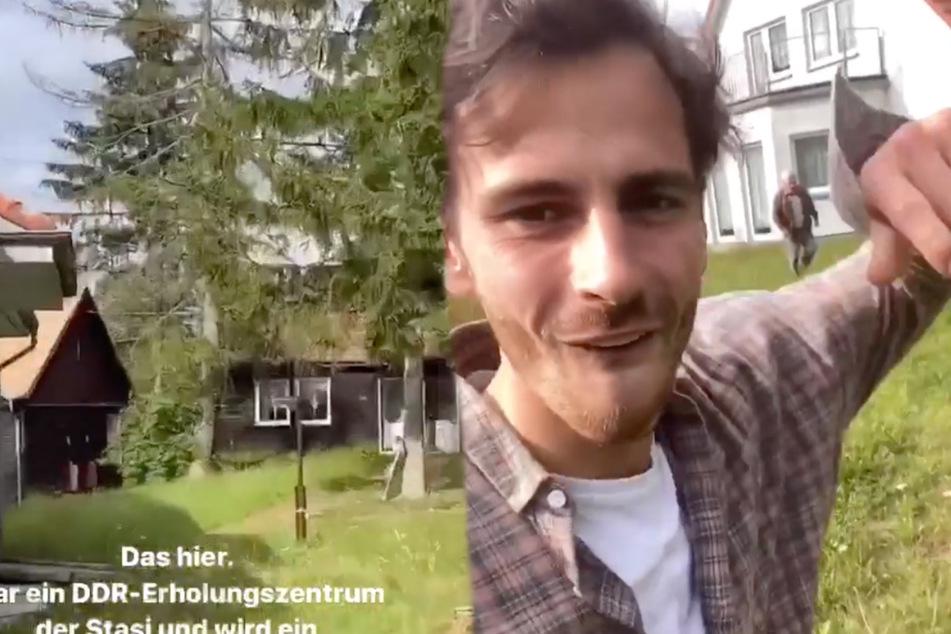 Fynn Kliemann mit neuem Projekt! Jetzt hat er ein Stasi-Grundstück gekauft
