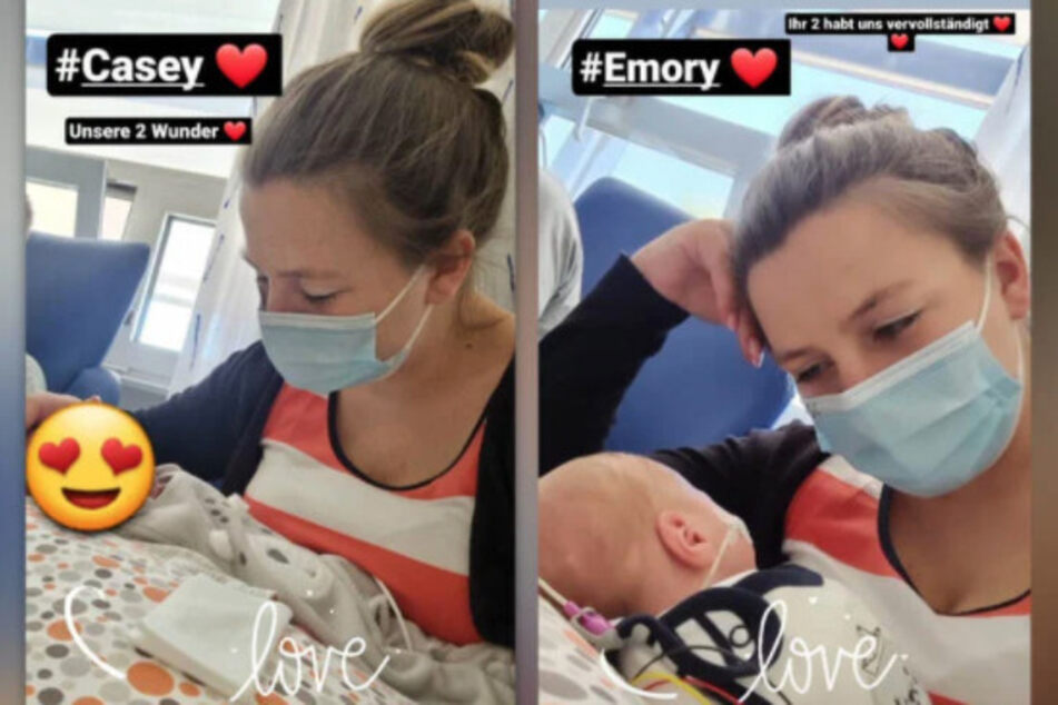 Der 26-jährige Reality-TV-Star teilte in ihrer Insta-Story erst kürzlich ein paar süße Schnappschüsse von ihren Zwillingsbabys.
