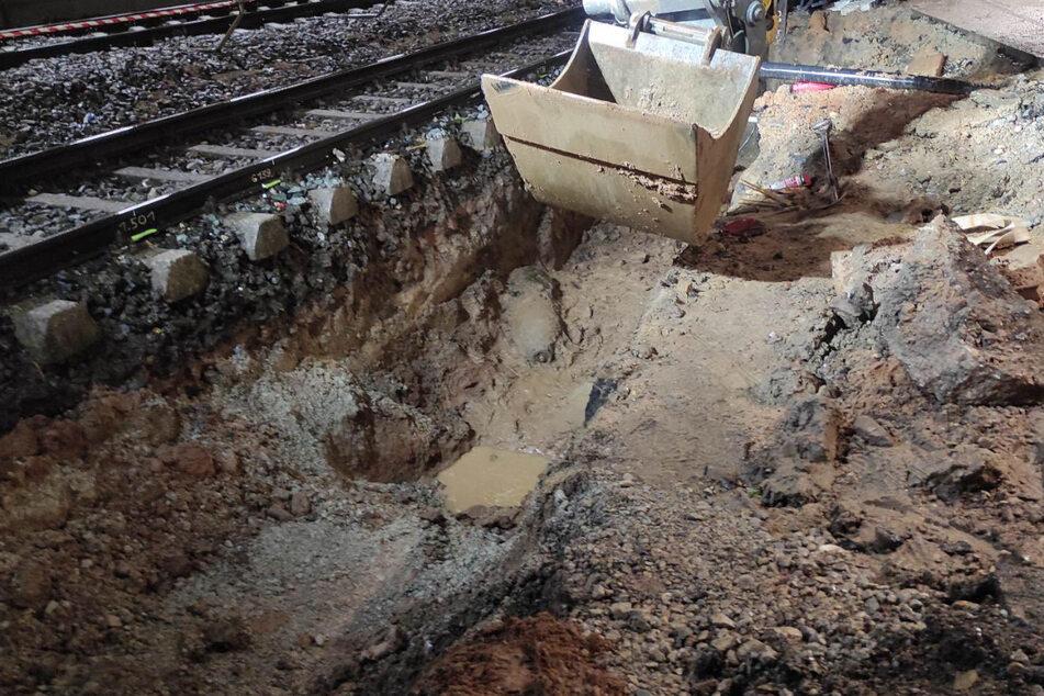 370 Einsatzkräfte wirkten an der Entschärfungsaktion und den damit verbundenen Maßnahmen am Ansbacher Bahnhof mit.