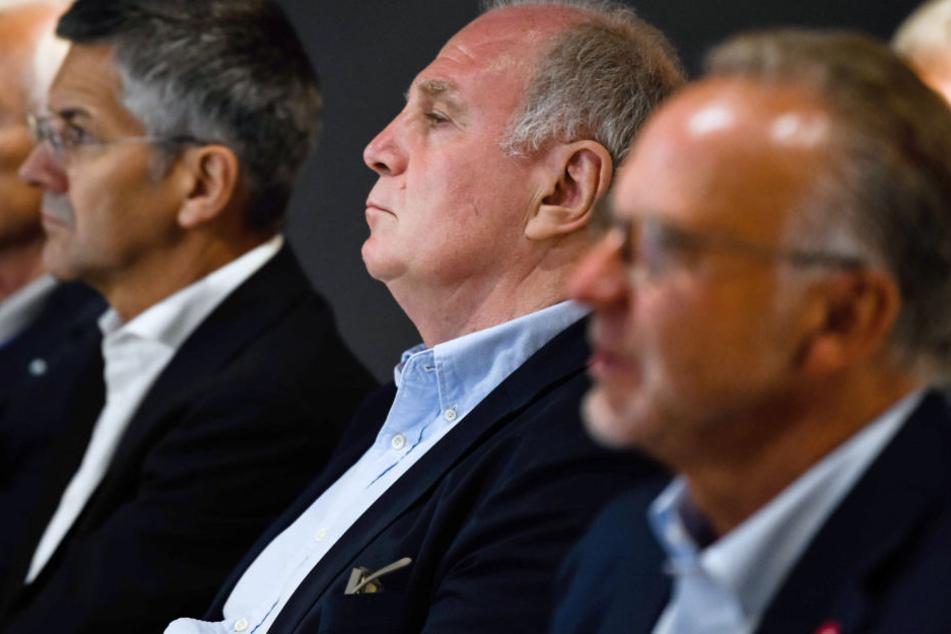 Der FC Bayern München kommt zur Jahreshauptversammlung zusammen. (Archivbild)
