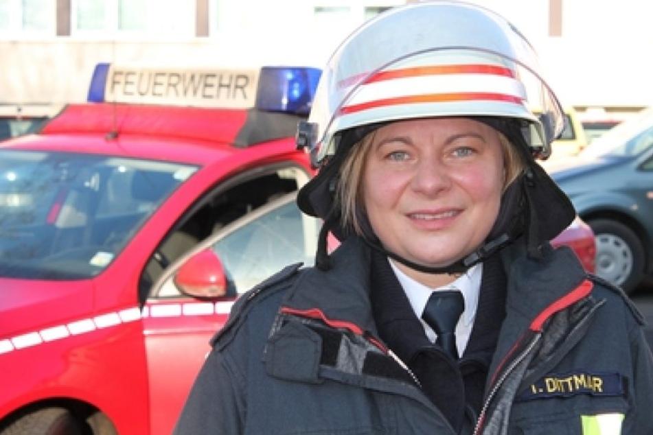 Tanja Dittmar (43) fordert Männer auf, sich zu rasieren.
