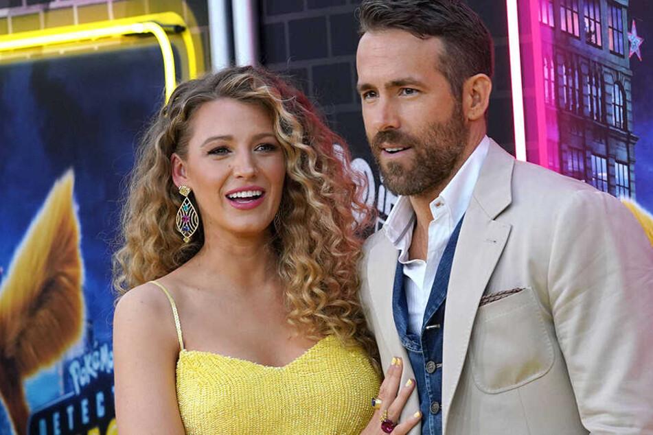 Heimliche Geburt: Drittes Kind für Blake Lively und Ryan Reynolds