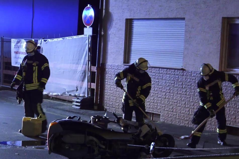 Roller-Fahrer fährt slalom und stürzt heftig, Polizei entdeckt Ungereimtheiten