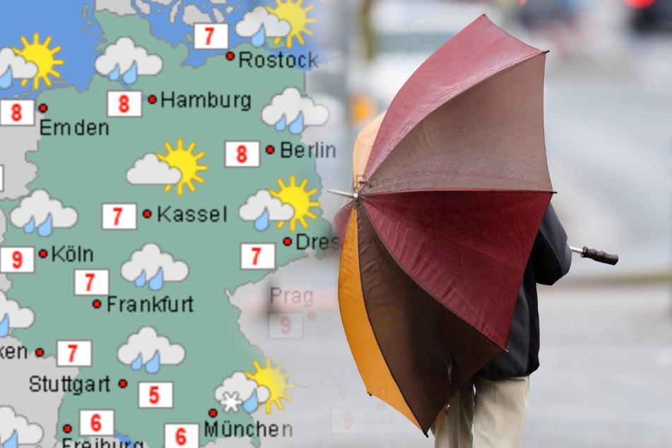 """Nach Sturmtief """"Luis"""": Schneeregen und Kälte im Anmarsch!"""
