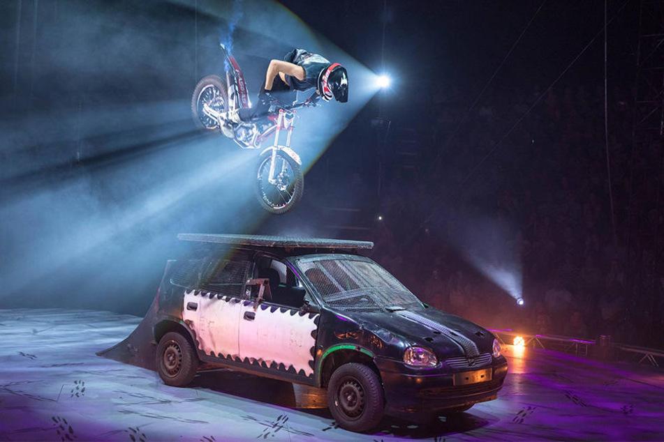 """Der Zirkus """"Flic Flac"""" ist für seine atemberaubenden Shows in ganz Deutschland bekannt."""