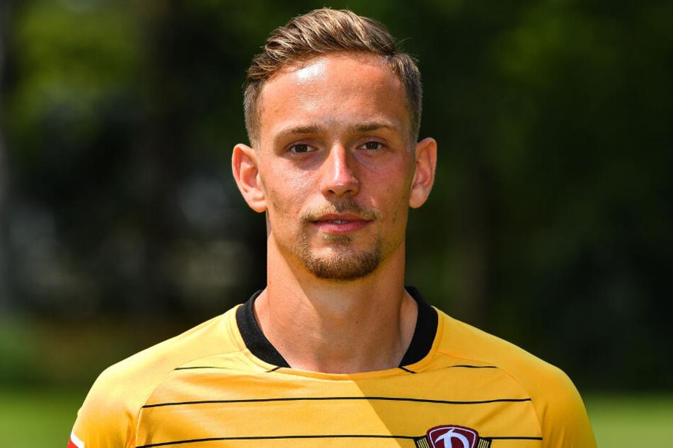 Abwehrspieler Jannik Müller.