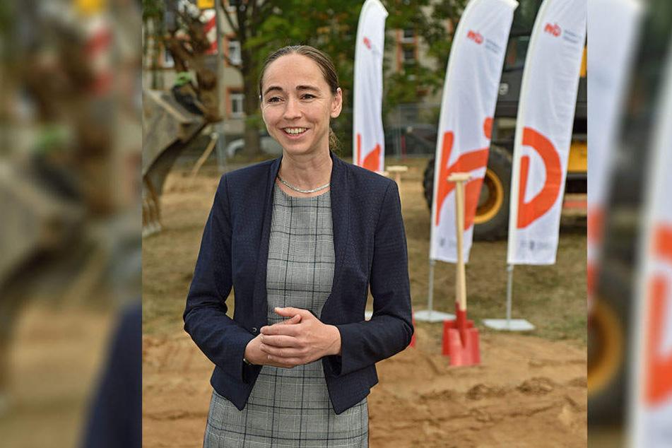 Dresdens Sozialbürgermeisterin Kristin Kaufmann (42, Linke).