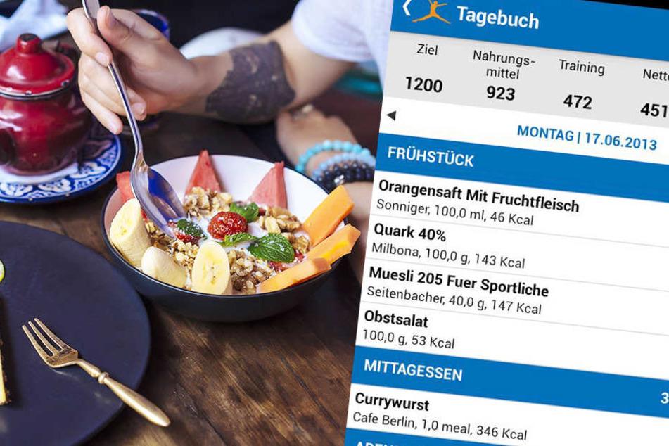 """Die beliebte App """"MyFitnessPal"""" wurde gehackt. User zählen damit Kalorien."""