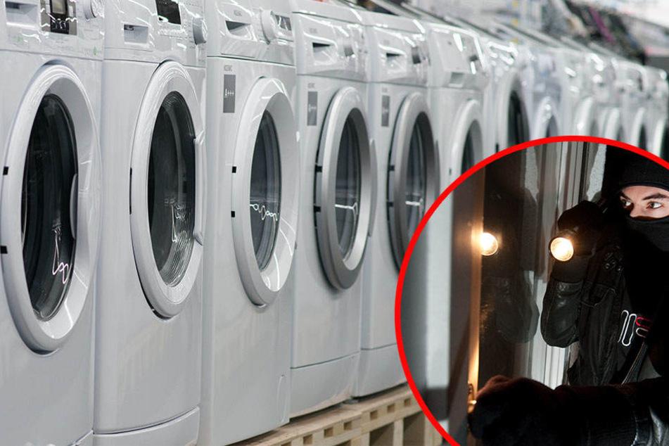 Die Diebe klauten nicht nur die Waschmaschine, sondern nahmen sämtliche Waschmittel auch gleich mit. (Symbolbild)