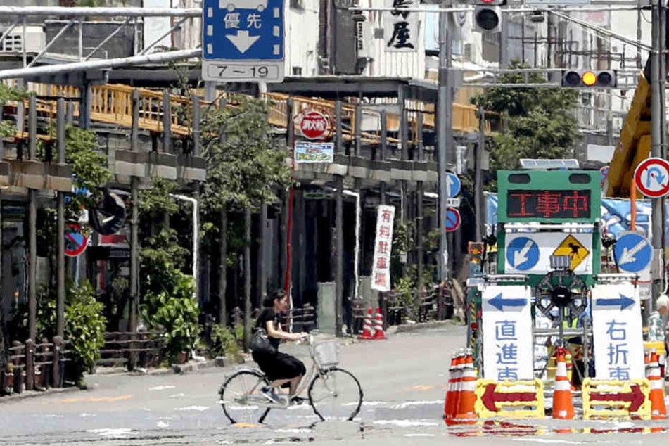 Am Mittwoch starben acht Menschen in Japan, mehr als 2000 mussten in Krankenhäuser.