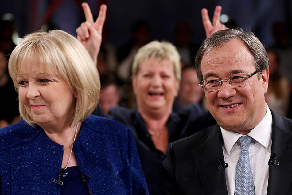 Hannelore Kraft (55) und Armin Laschet (56) sind die stärksten Konkurrenten bei der NRW-Wahl.