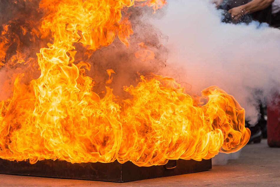 Eine Gaskartusche ist in der Wohnung der Familie explodiert. (Symbolbild)