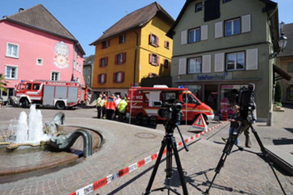 Das Unglück geschah im Mai 2016 in der historischen Altstadt von Bad Säckingen.