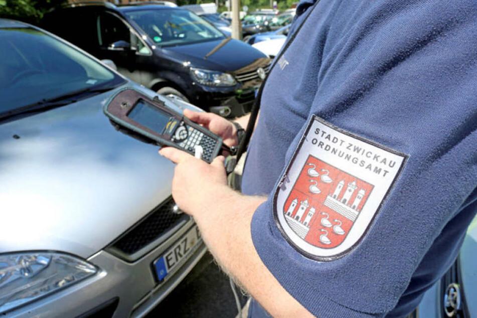 Eine feste Bank: Städte wie Zwickau planen Einnahmen aus Knöllchen und Blitzern in ihre Budgets ein.