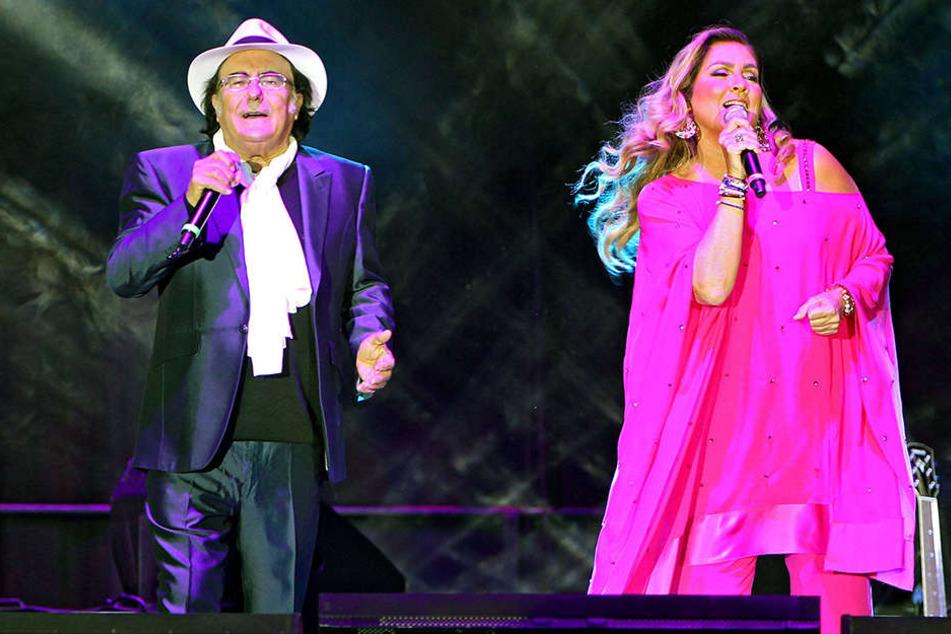 Al Bano (73) und Romina Power (65) starteten ihre Comeback-Tour durch  Deutschland in der Leipzig Arena.