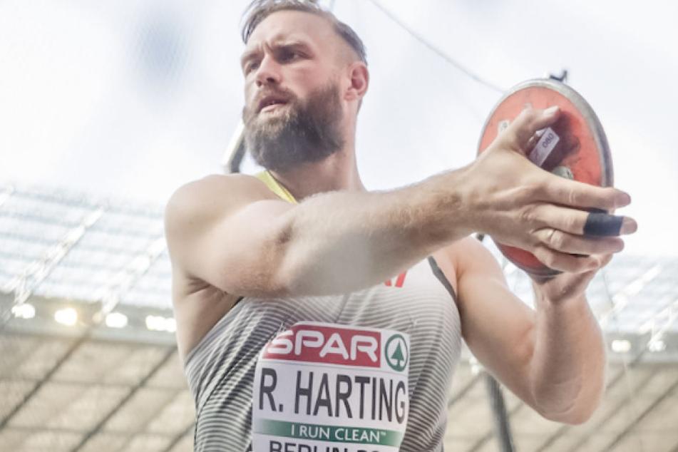 Während Altmeister Robert Harting (33) ins Diskus-Finale einzog...