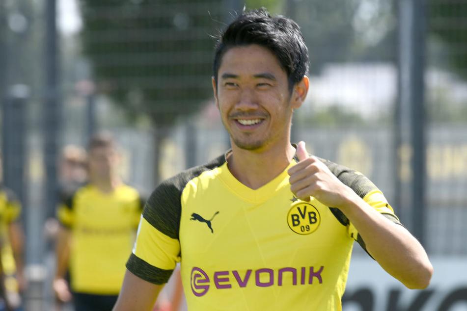 Ist beim BVB Publikumsliebling, dennoch wird immer wieder über einen Wechsel spekuliert: Ist Shinji Kagawa einer für den VfB? (Symbolbild)