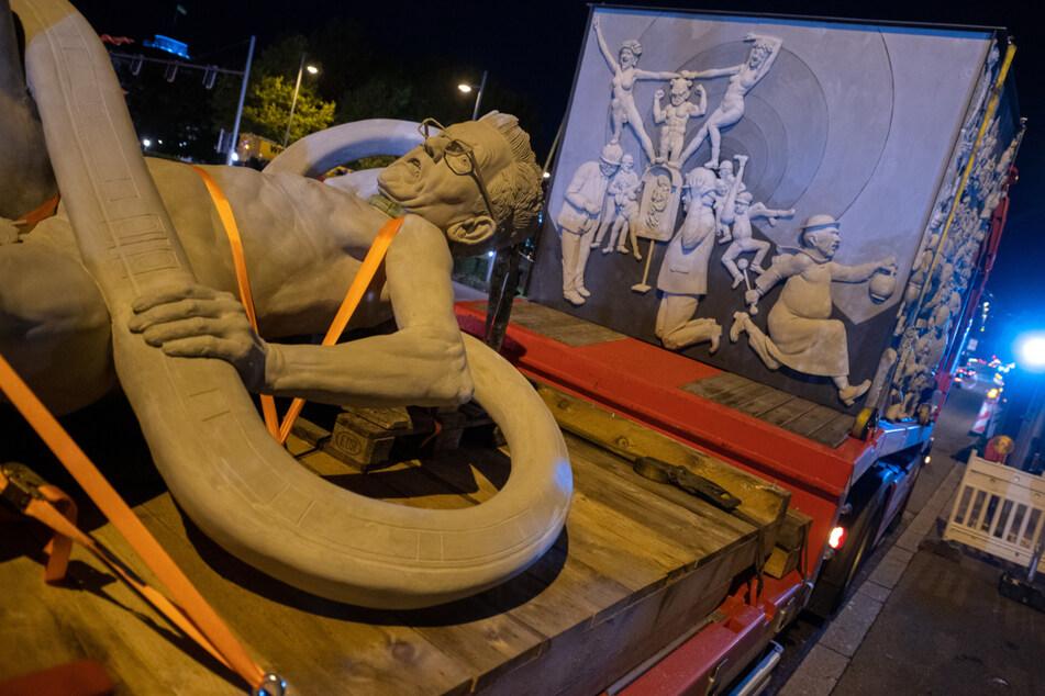 Milliardenprojekt Stuttgart 21: Ab heute kommt der Protest in Form einer Statue