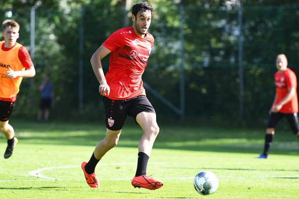 Hamadi Al Ghaddioui traf doppelt für den VfB Stuttgart gegen den FC Zürich. (Archivbild)