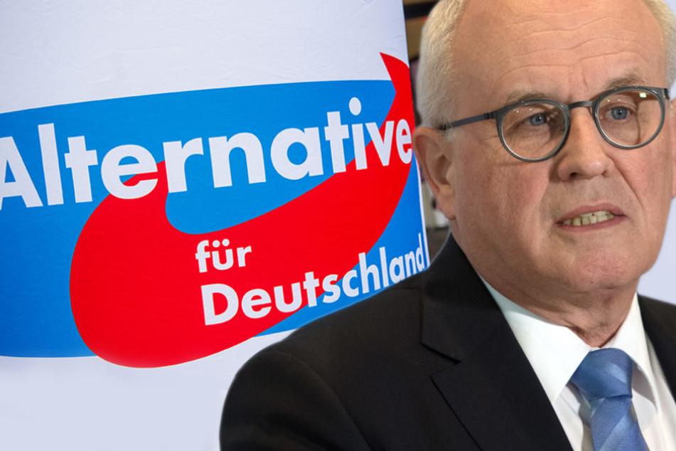 Volker Kauder: Union lehnt Zusammenarbeit mit AfD und Linke kategorisch ab. (Bildmontage)