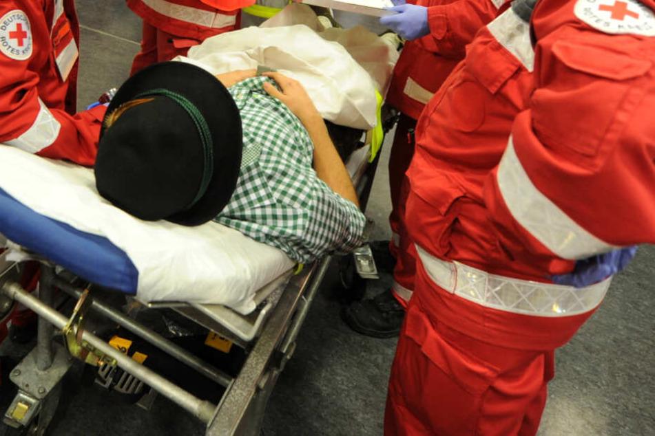 Ein Wiesn-Besucher hatte sich angeblich in eine Sanitäterin verliebt. (Symbolbild)