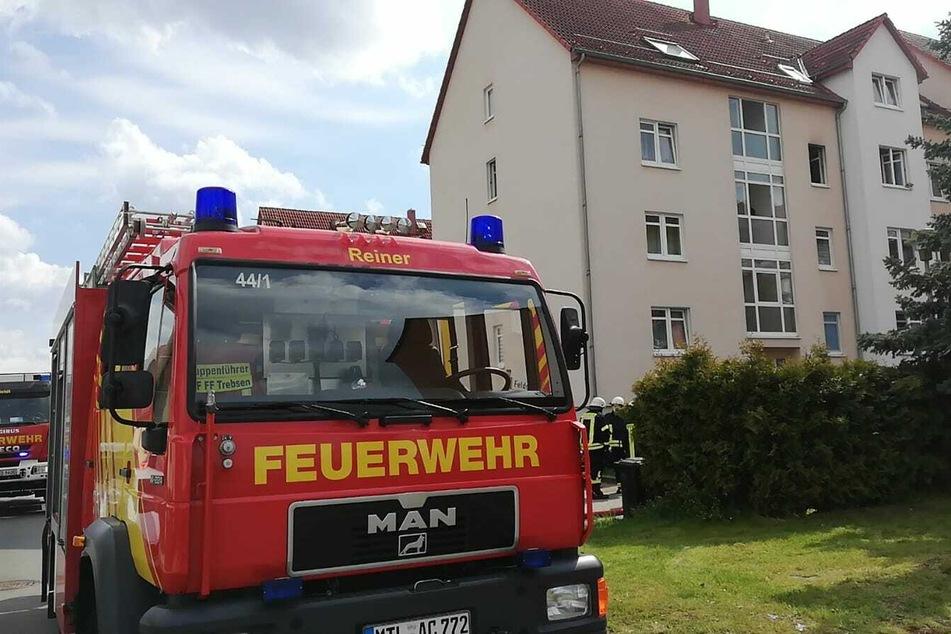 Nach aktuellen Informationen war das Feuer im Badezimmer ausgebrochen.