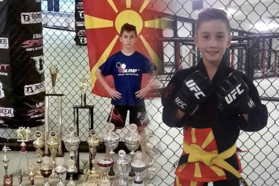 Mini-Terminator: Jüngster deutscher Kämpfer bei MMA-Turnier