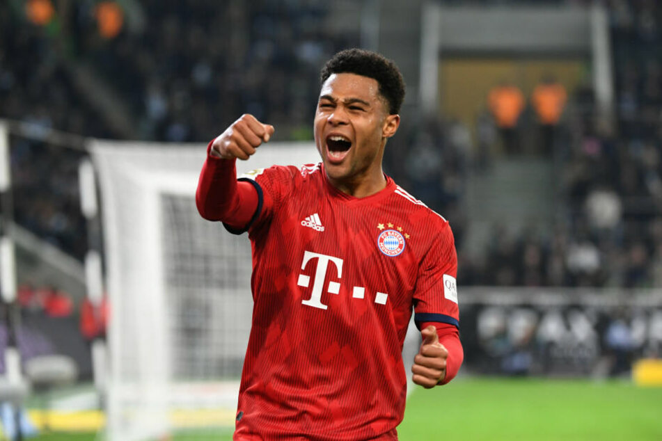 Serge Gnabry (23) bleibt bis 2023 bei den Bayern.