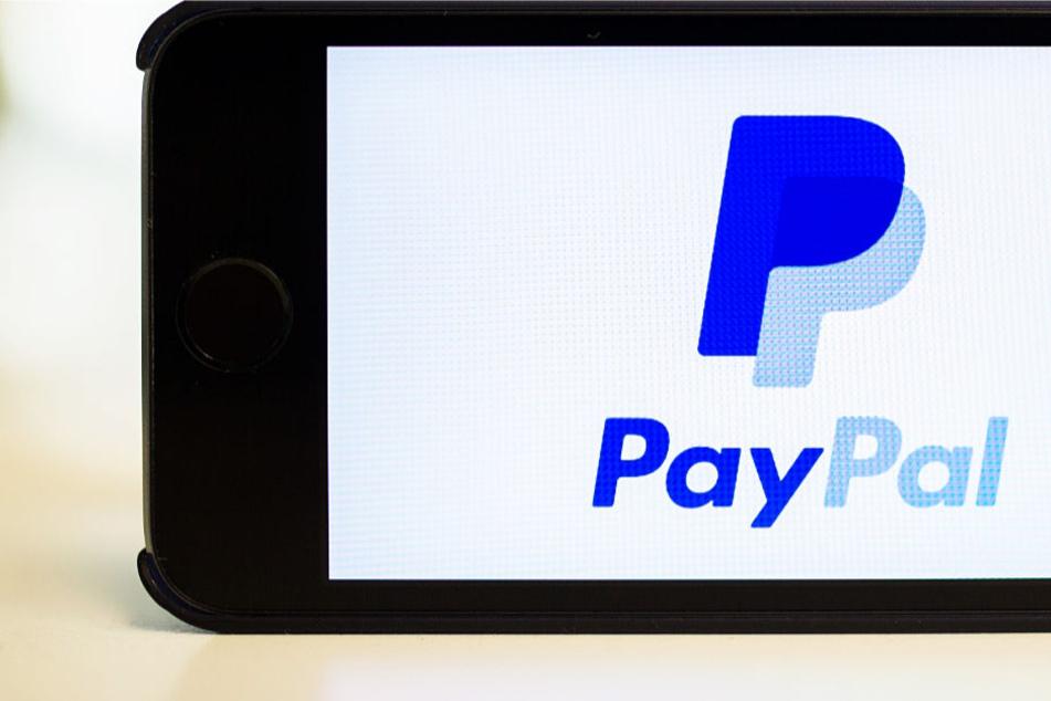 Zum Vergleich: Das echte PayPal-Logo sieht so aus.