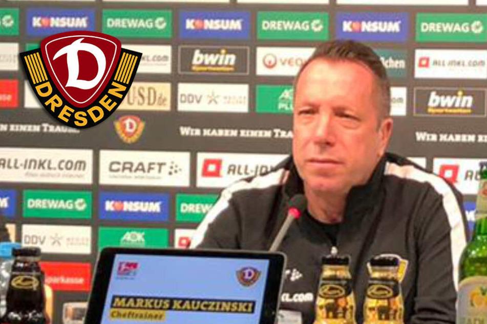 Live-Video: Dynamos neuer Trainer Markus Kauczinski stellt sich vor