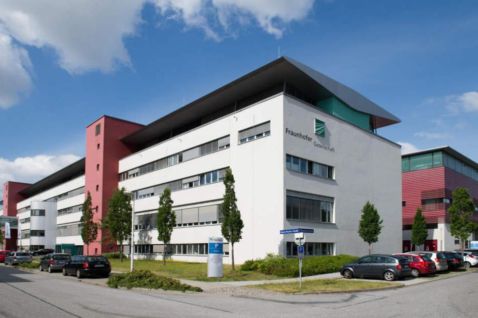 Eine Niederlassung der Fraunhofer Gesellschaft in Dresden.