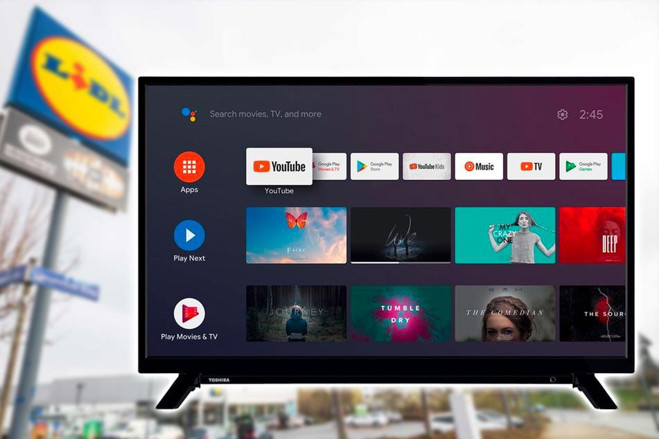 Lidl verkauft kleinen Full-HD-Fernseher bis Samstag (6.3.) zum Hammerpreis