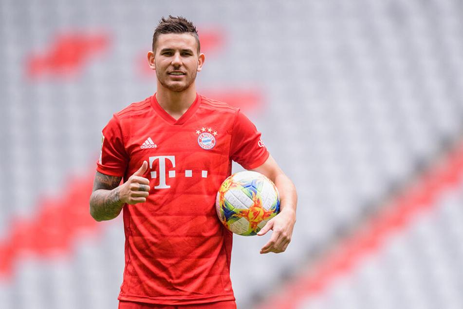 Große Erwartungen haben die Bayern-Verantwortlichen an Lucas Hernández.