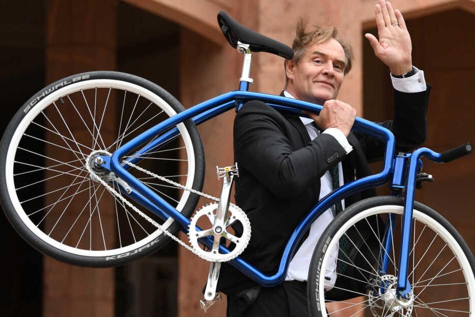 Leipzigs Oberbürgermeister Burkhard Jung lädt für Dienstag zu einer Radtour durch den Südwesten der Messestadt.