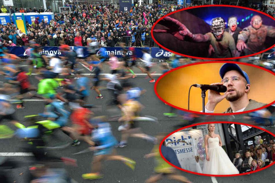City-Marathon, das perfekte Ja-Wort oder Grusel für die Kids: So vielfältig wird Dein Sonntag