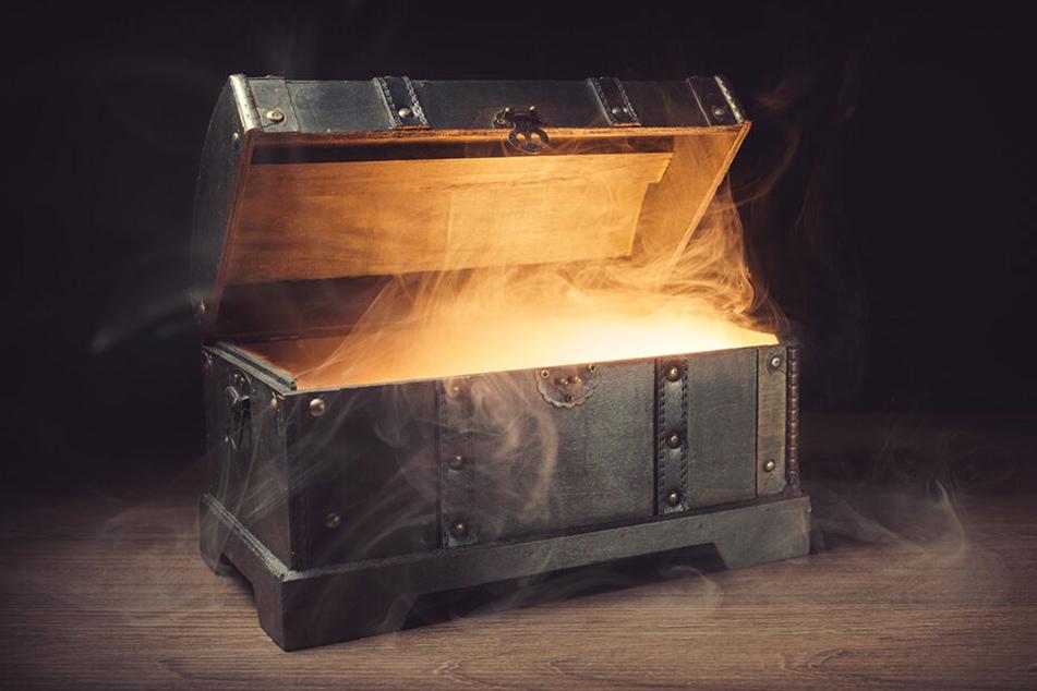 """In einer Holzkiste wurden Leichenteile aufbewahrt. Der Fall ging als """"Lady in the Box"""" in die Kriminalgeschichte ein."""