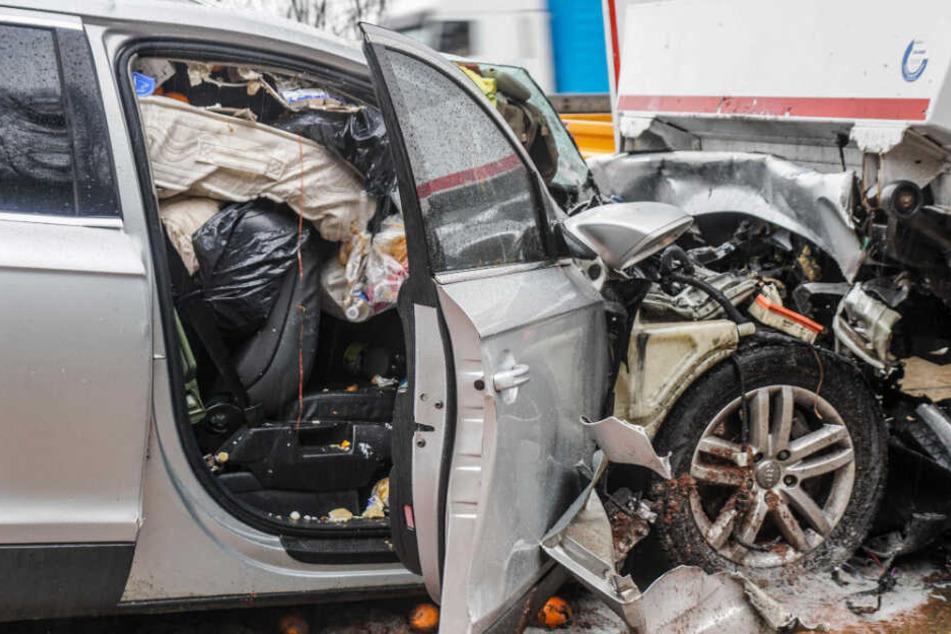 Schwerer Unfall im Stau-Chaos auf der A8!