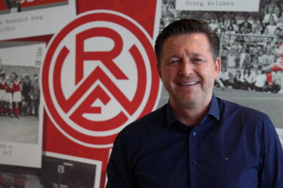Christian Titz wurde als neuer Trainer von Rot-Weiss Essen vorgestellt.