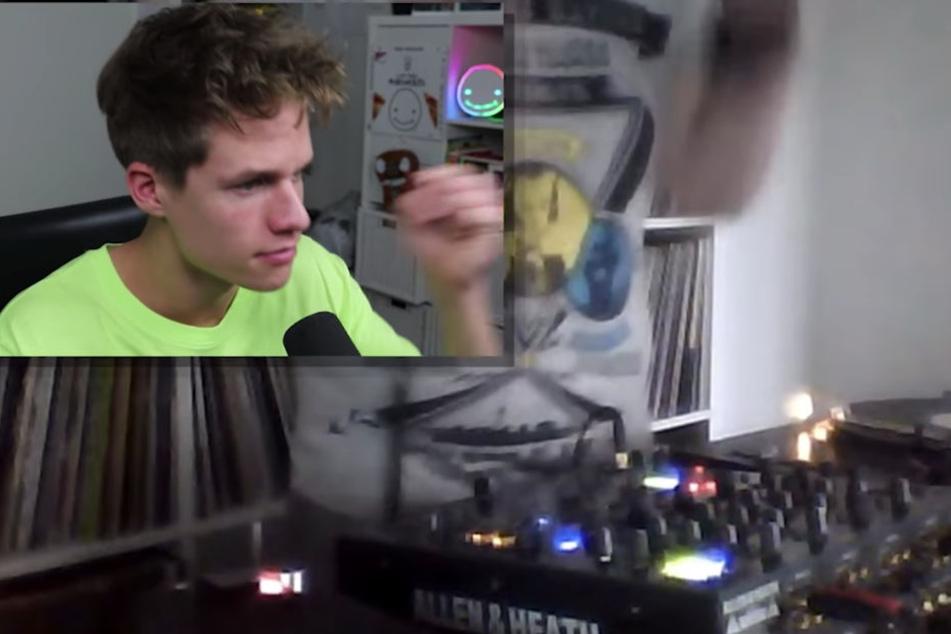 Ein DJ war einer der wenigen Lichtblicke unter den vielen Nackten.