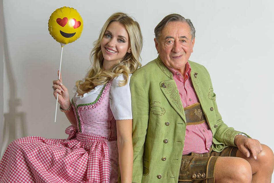 Immer noch ein süßes Paar, Cathy und ihr Gatte Richard Lugner (26).
