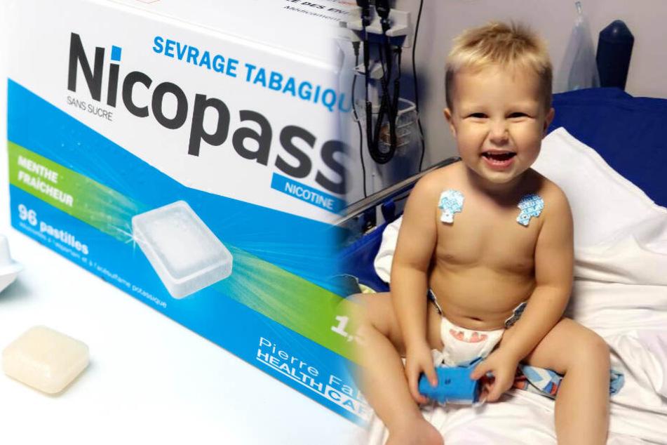 Kind (2) erleidet schlimme Vergiftung nachdem er einen Kaugummi kaut
